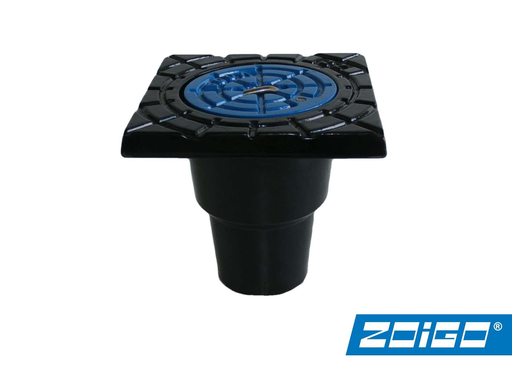 poklop plovoucí přípojkový ZOiGO ZZ-DECKFIX voda