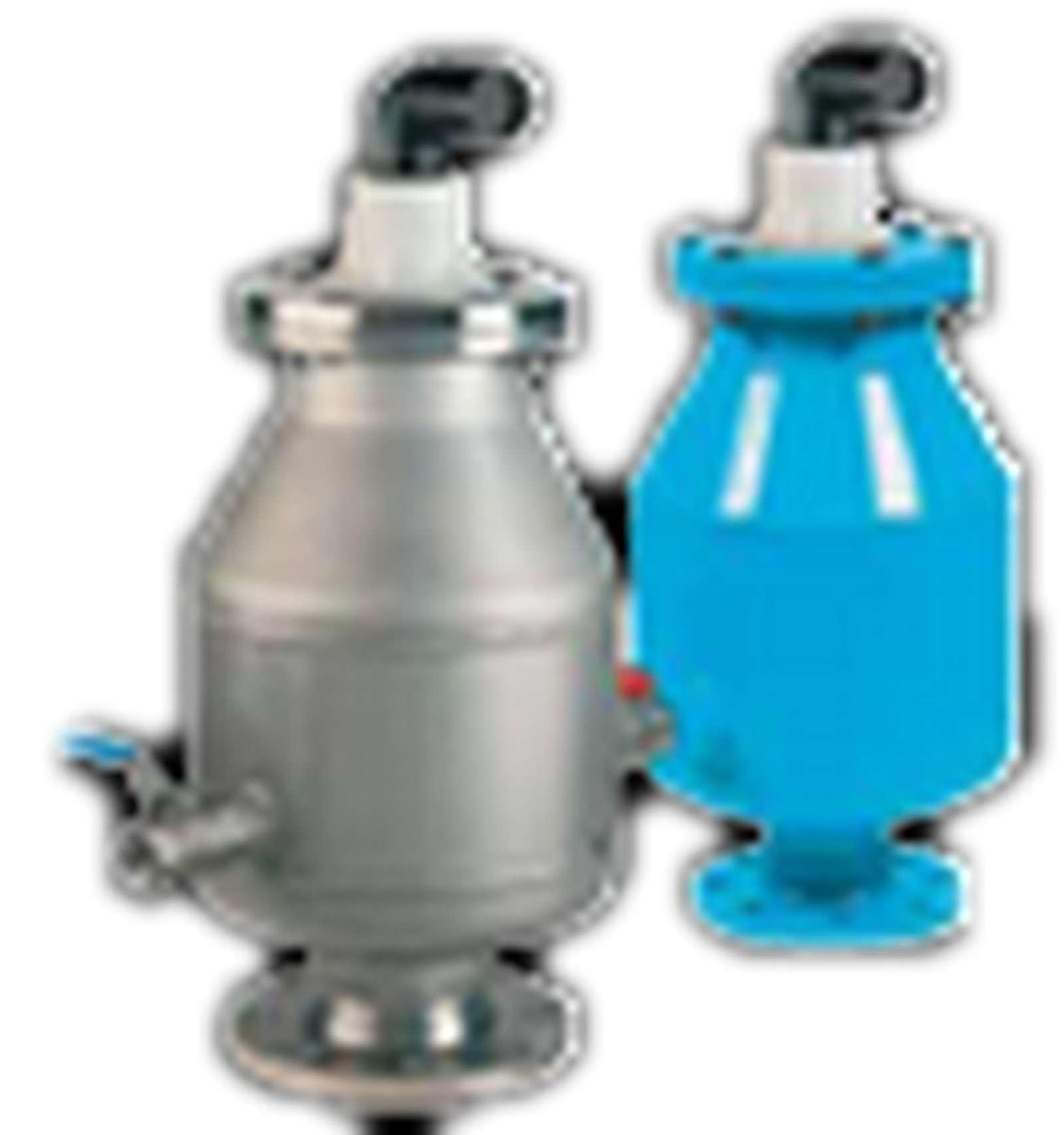 Zavzdušňovací a odvzdušňovací ventily, odvzdušňovací soupravy