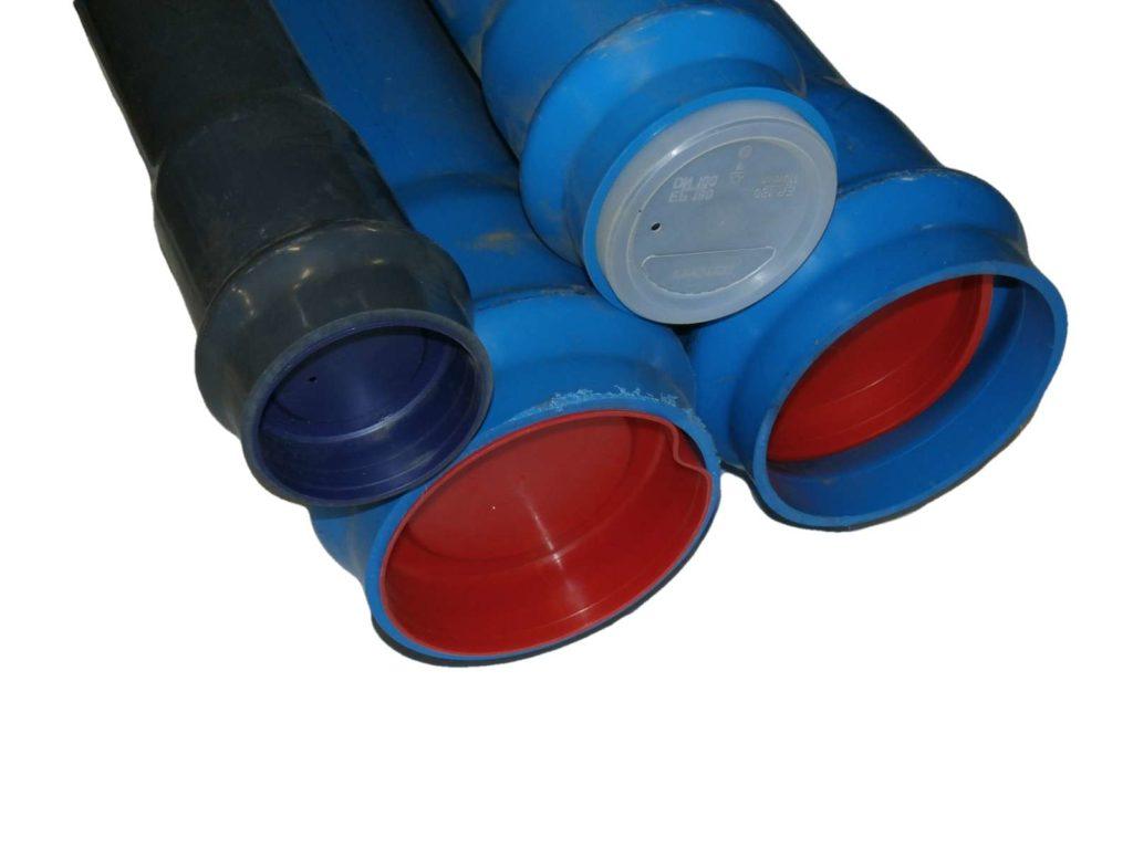 Trubka hrdlová tlaková PVC