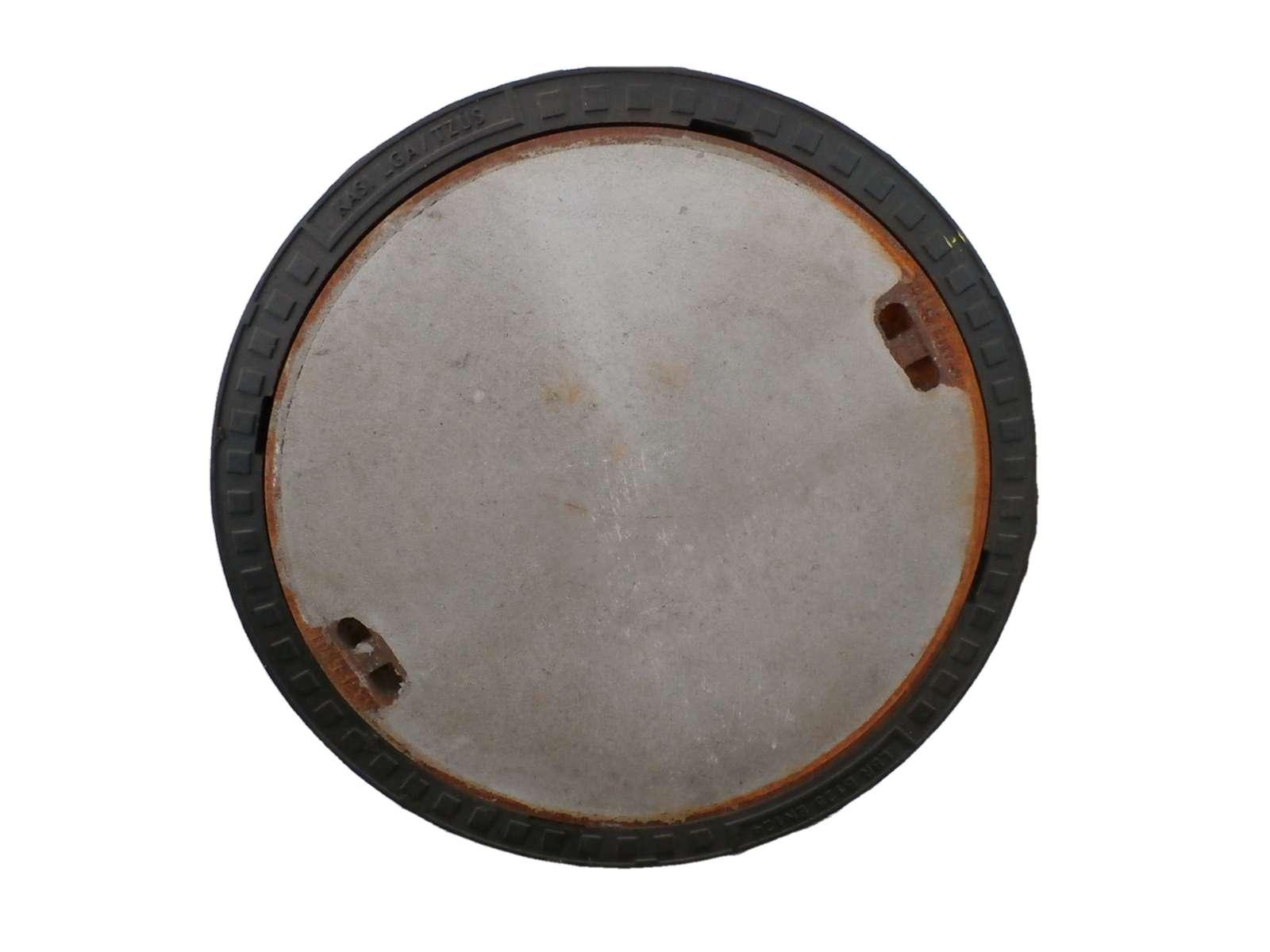 poklop šachtový kruhový
