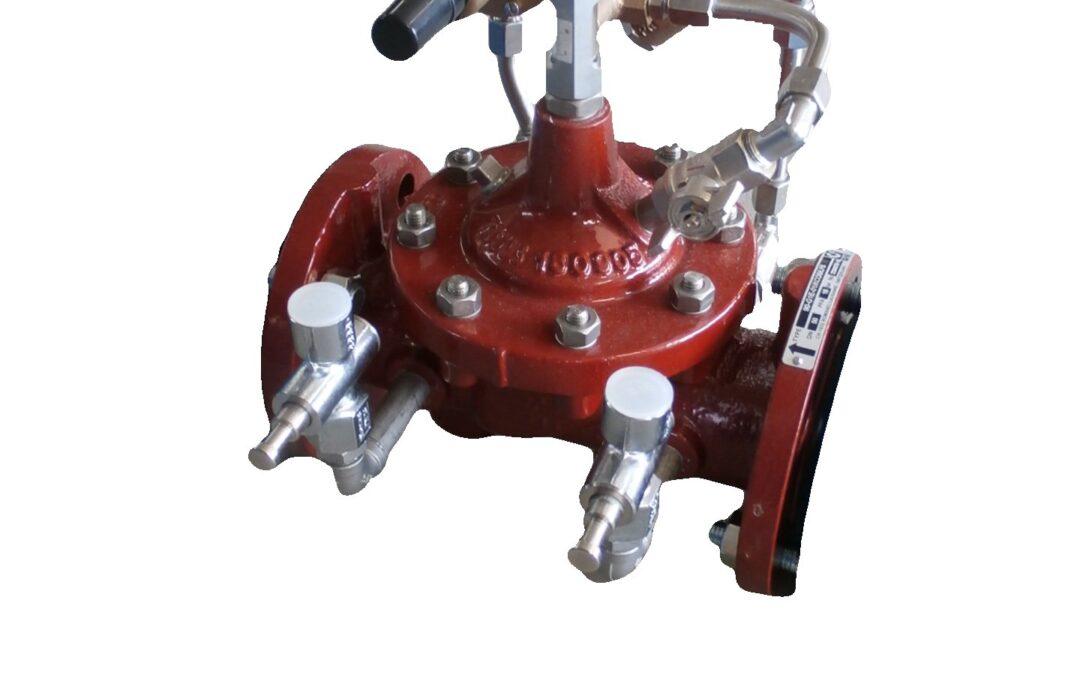 Redukční a udržovací ventil přírubový